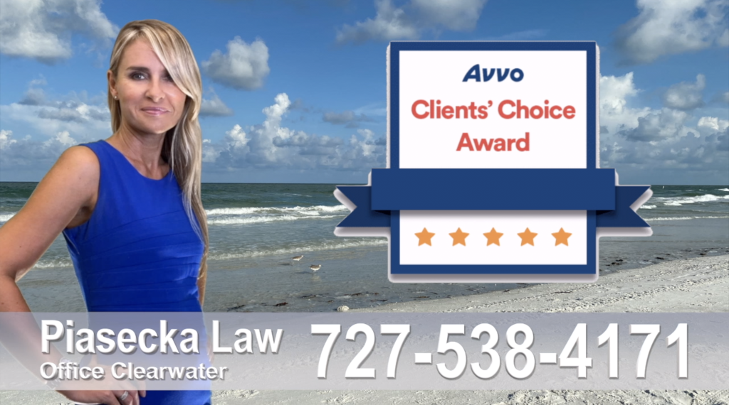 Piasecka Law 727-538-4171 Polski Prawnik, Adwokat, Largo, Floryda